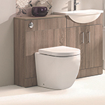 Opal Rimless Back-to-Wall Pan & Soft Close Seat