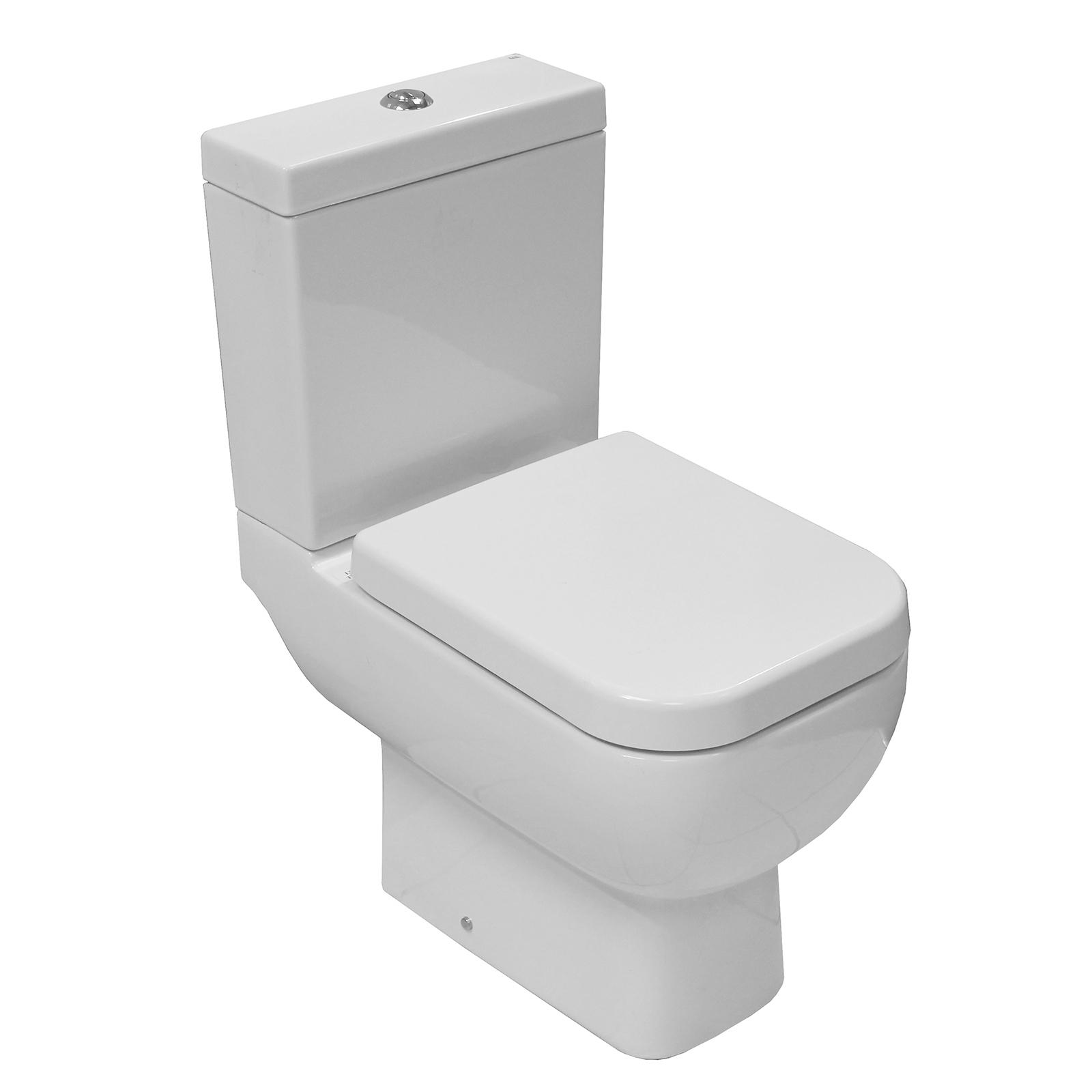 Rak Series 600 Close Coupled WC Toilet £145.99 at Allbits Plumbing ...