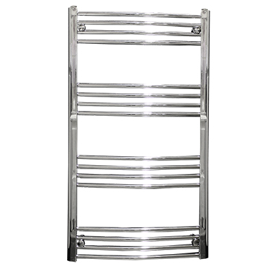 Reina Capo 600 x 800 Curved Heated Towel Rail