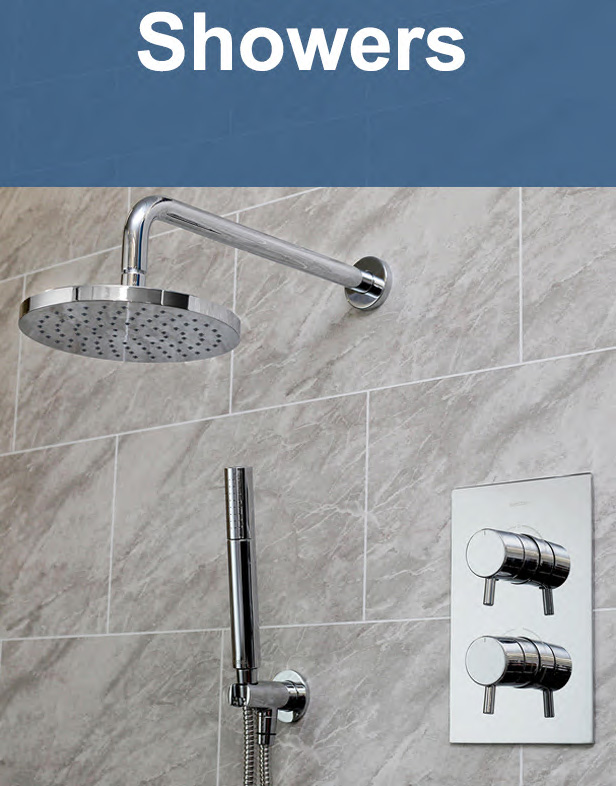 Huge Range of Modern & Traditional Showers